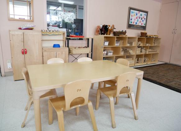 Playdough Table