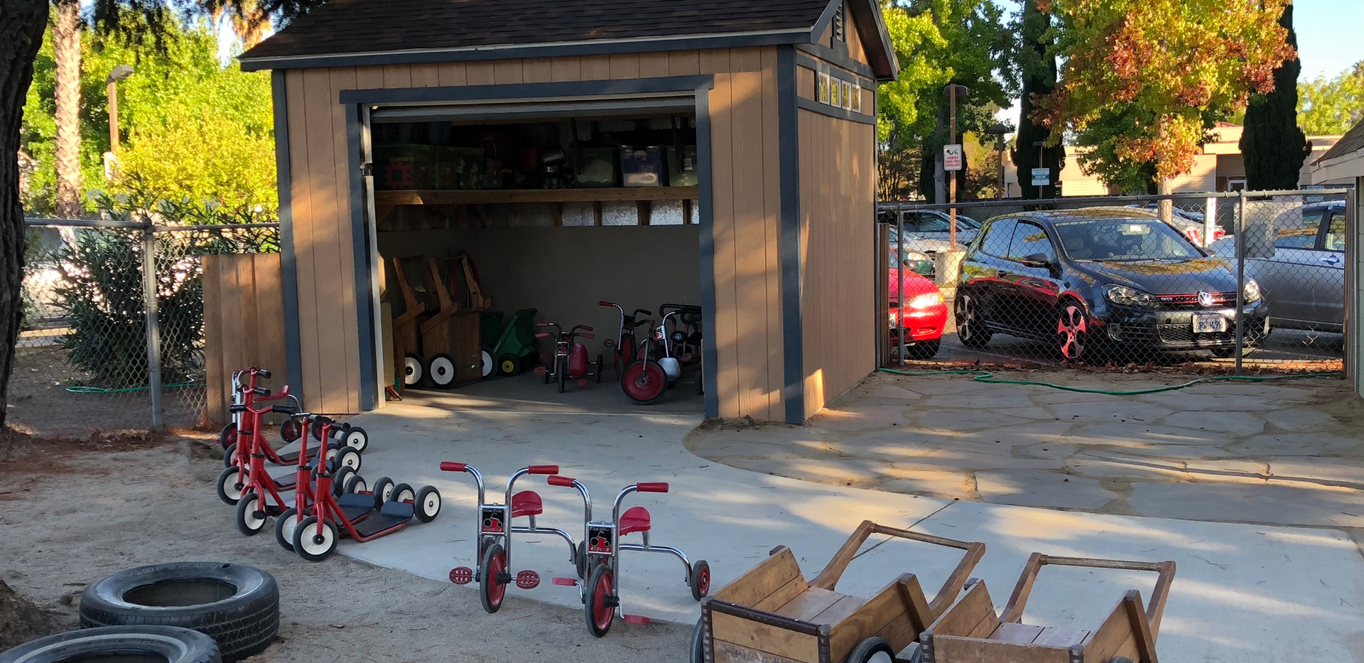 Scooters, Bikes, and Wagons