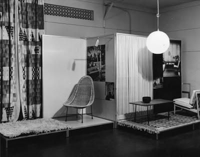 מתוך תערוכת העיצוב בסקנדינביה 1954-עיצוב פשוט שימושי ויפה