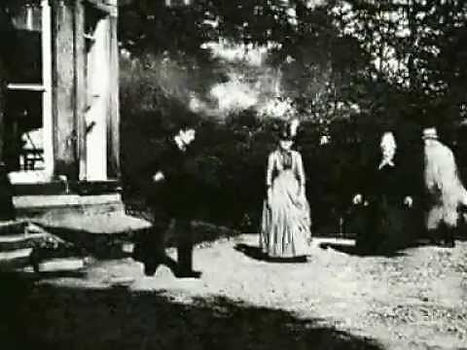 The world's first movie Roundhay Garden Scene 1888 by Louis Le Prince