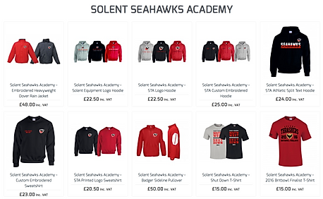 Solent Seahwks Merch