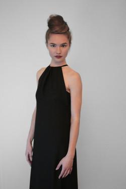 SS16 - Black Chiffon Dress