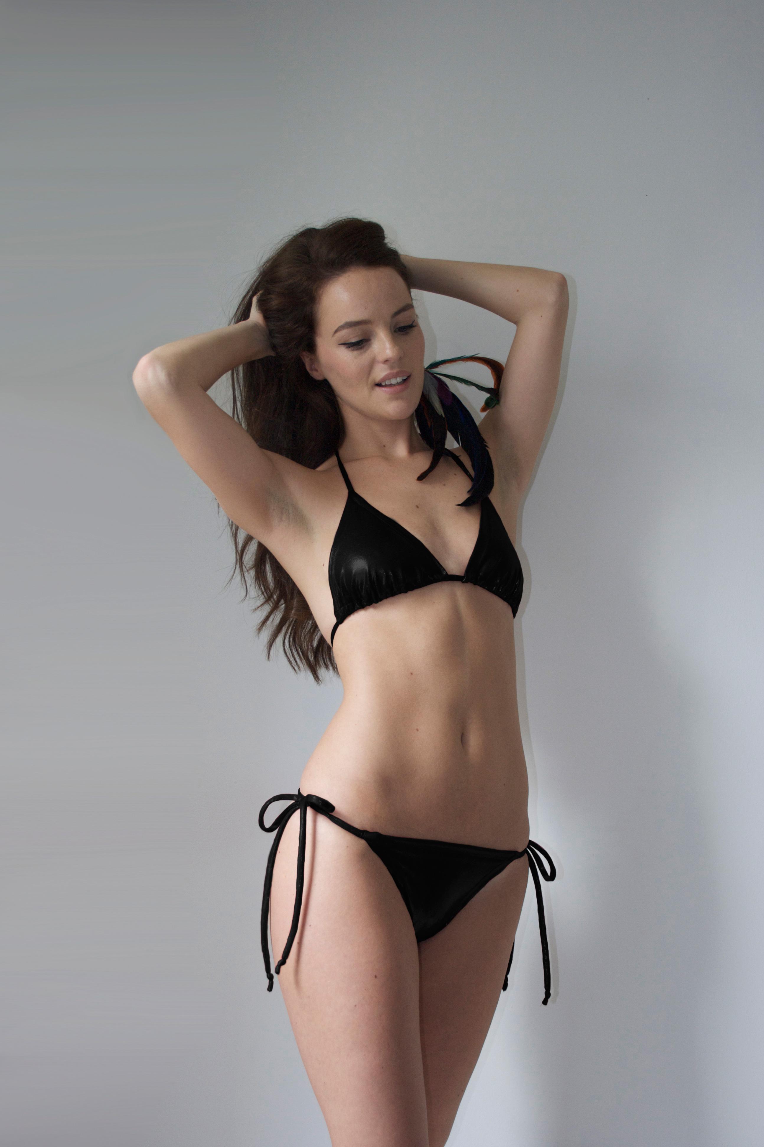 SS14 - Black shine Bikini