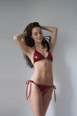 SS14 - Red Shine Bikini