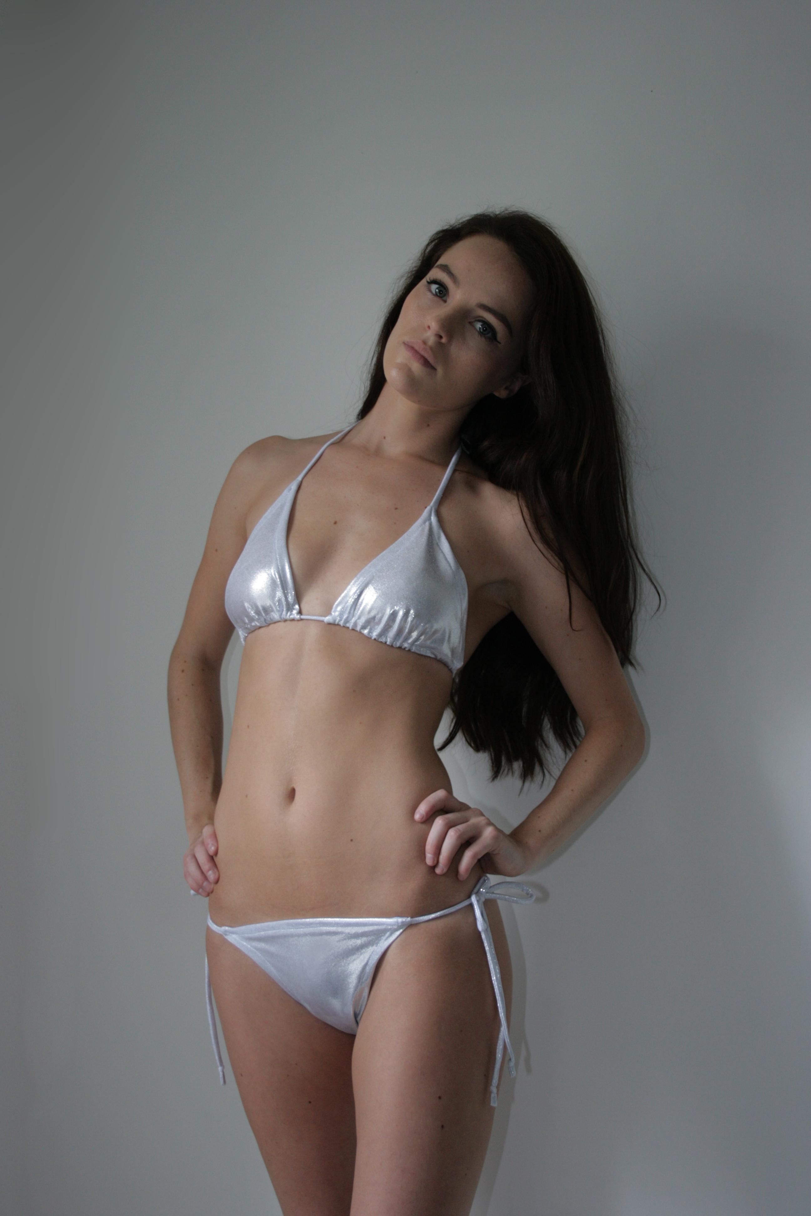 SS14 White Shine Bikini