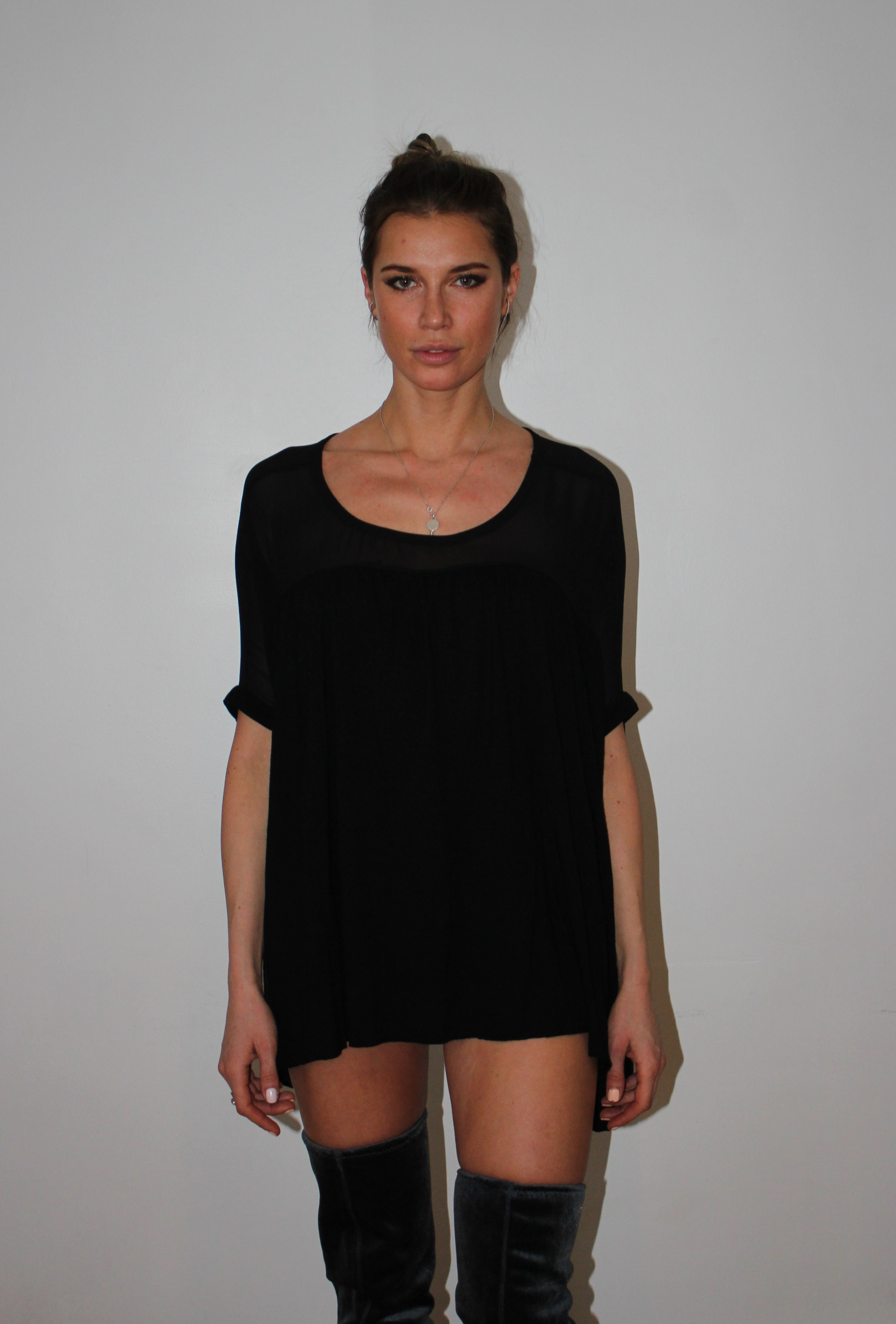 Sheer Jersey Top SS20