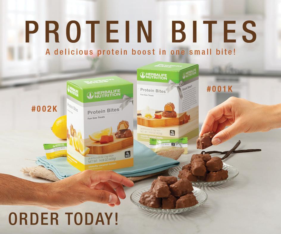 herbalife protein bites