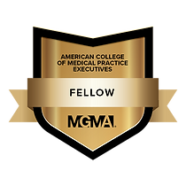 MGMA Fellow Credly badge