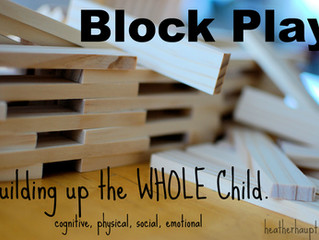 Ten Things Children Learn From Block Play