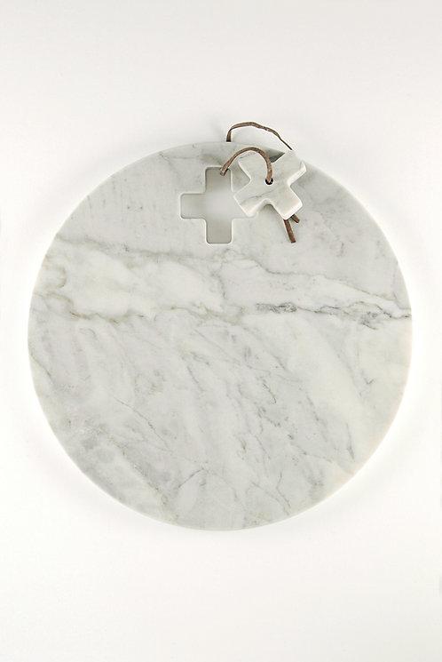 Schneidebrett aus Carrara-Marmor