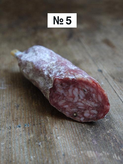 Steinbock-Salami, grobkörnig & herzhaft