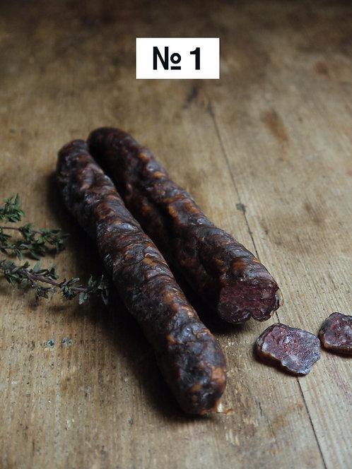 Hirsch-Salsiz, feinkörnig & würzig-mild