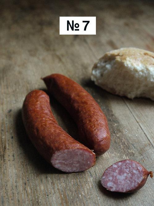 Hirschwurst, saftig & schmackhaft