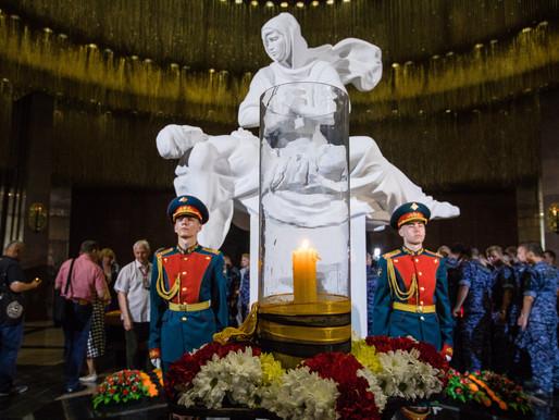 22 июня липчане смогут зажечь памятную свечу в московском Музее Победы