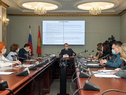 Летний отдых детей обсудили участники заседания в администрации Липецкой области