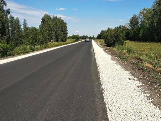 Новые дороги приняты в эксплуатацию в Лебедянском районе