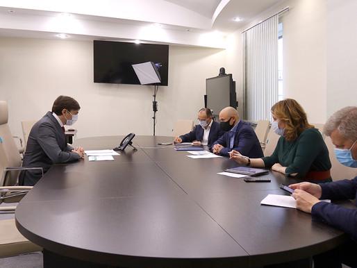 Министр просвещения Российской Федерации провёл встречу с Игорем Артамоновым