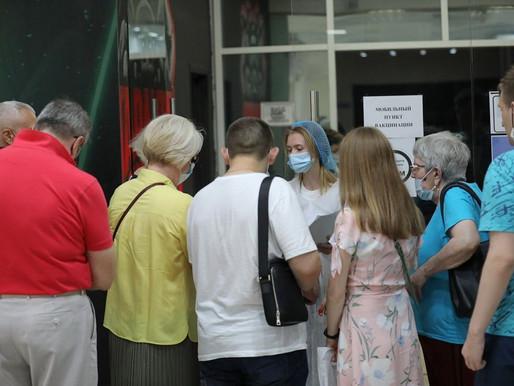 Прививку от COVID-19 в Липецкой области сделали более 32% взрослых