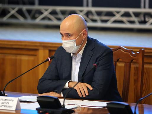 Игорь Артамонов встретился с представителями негосударственных аптечных организаций