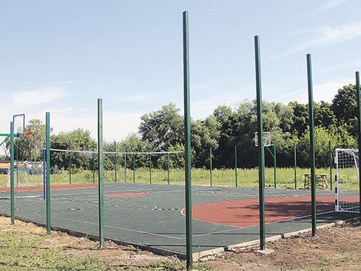 Уличных спортплощадок в Липецкой области стало больше