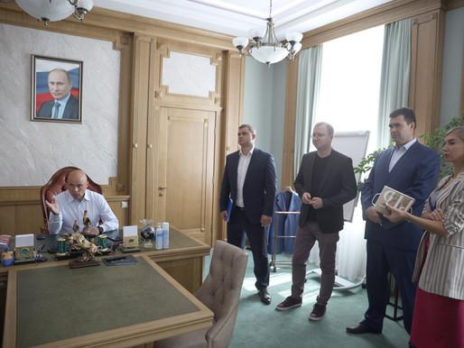 Игорь Артамонов обсудил перспективу создания экодеревни в Задонском районе
