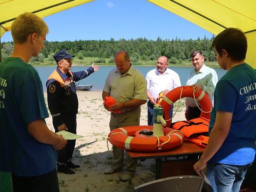 Новые общественные спасательные посты будут открыты на водоёмах Липецкой области