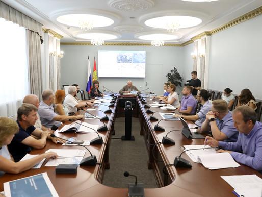 Игорь Артамонов и члены Градостроительного совета обсудили перспективную застройку областного центра