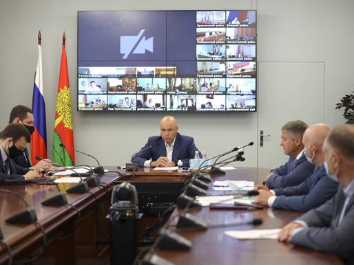 Игорь Артамонов провёл первое заседание штаба по развитию газификации
