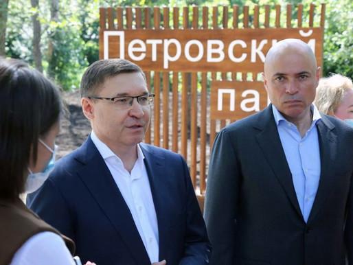 Министр строительства и ЖКХ высоко оценил работу региона по реализации нацпроектов