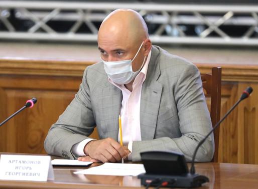 Заседание оперштаба по противодействию распространения коронавируса прошло в администрации Липецкой