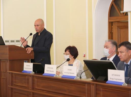Игорь Артамонов принял участие в коллегии управления здравоохранения