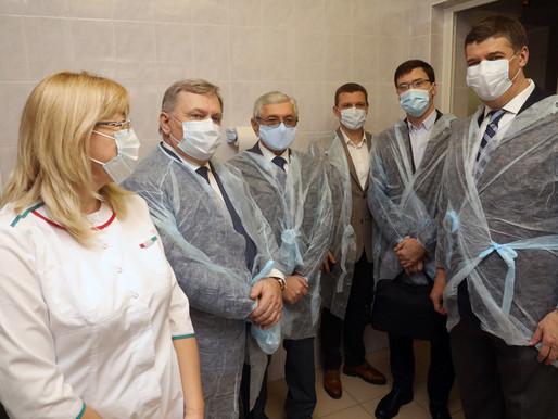Оборудование для тестирования на COVID-19 приобрела для Липецкой области Группа Черкизово