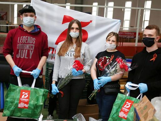 Волонтёры приготовили подарки для ветеранов