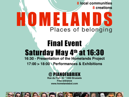 Save the date : Final Homelands event