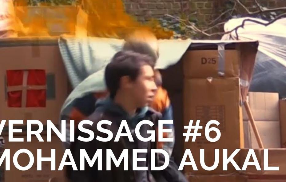 Vernissage film Mohammad Aukal  Homelands