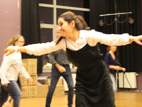 Workshop Theater with Chinara Miamona @Wolubilis - Ateliers Temps Libre
