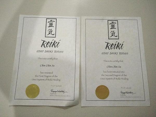 ChinCSu Reiki Certificates.jpg