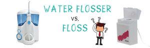 Waterpik vs Floss