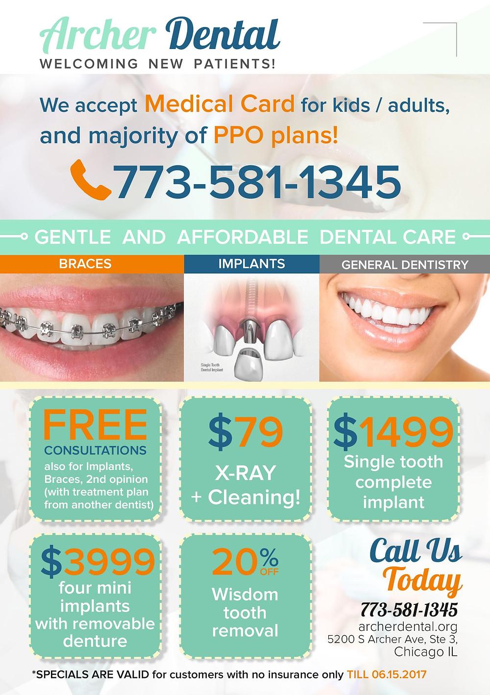 Archer Dental Offers