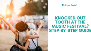 How To Save Knocked-Out Tooth - Lollapalooza Edition