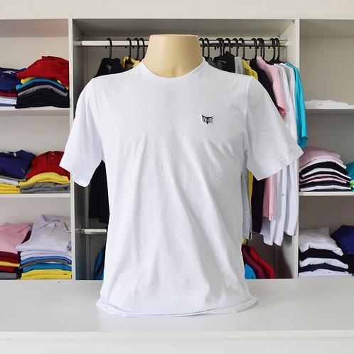 Camiseta Básica M/C Gola Careca 100% Algodão Unissex P ao GG