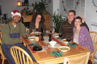Christmas dinner!