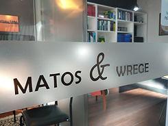 Recepção escritório advocacia Matos & Wrege Advogados em Bagé