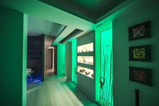 Quadri LED incassati a parete