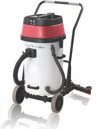 2000W Industrial Wet and Dry Vacuum Cleaner with Squeegee