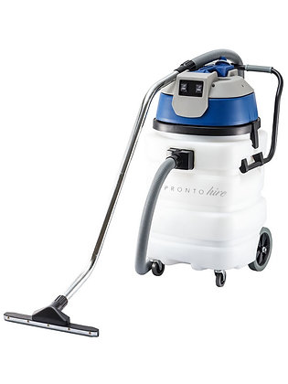 Industrial Wet and Dry Vacuum Cleaner with Two Motors