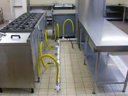 Gas kitchen