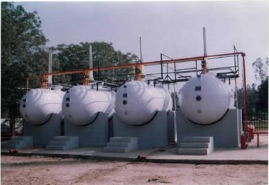LPG Tank Installation.