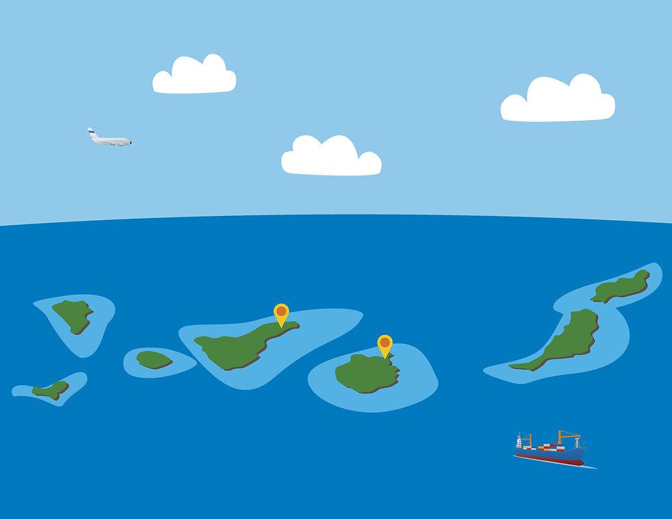 Delegaciones Delfin Lines Canarias