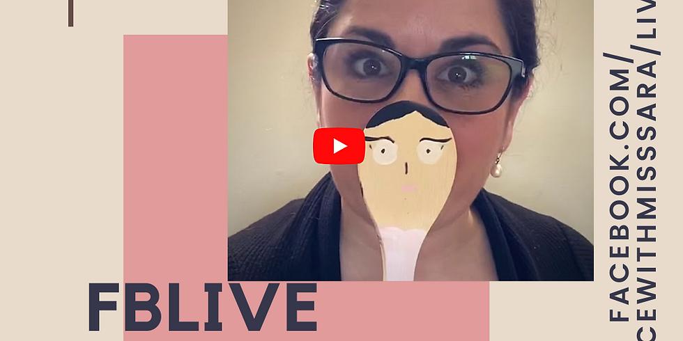 Facebook LIVE Mini-Ballet Basics (IN 5 MINUTES!)